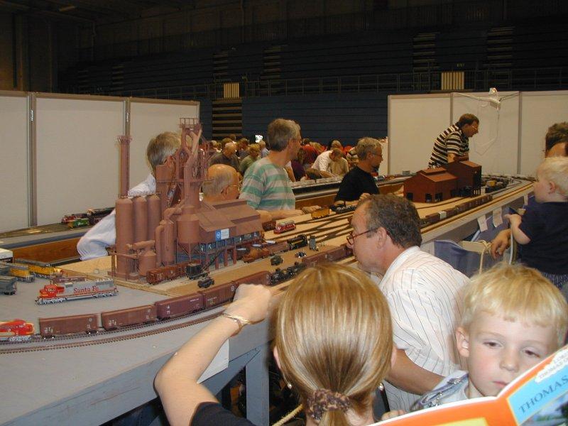 Første udstillings anlæg i Valbyhallen 2002